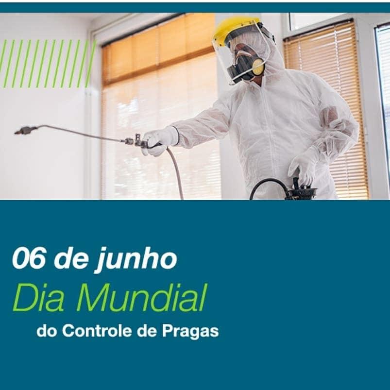 06 de junho - Dia Mundial do Controle de Pragas